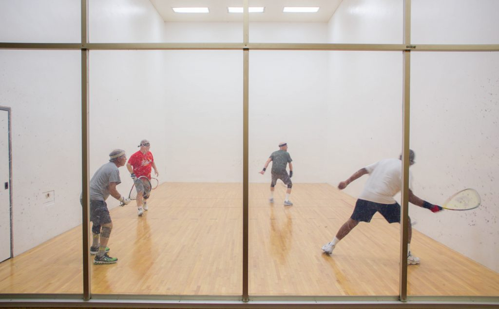 racquetball courts in North Haven, CT