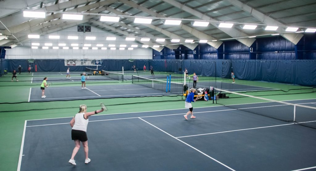 indoor tennis courts in central Connecticut